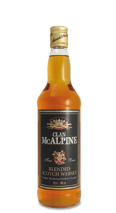 Blended Scotch Whisky Clan McAlpine